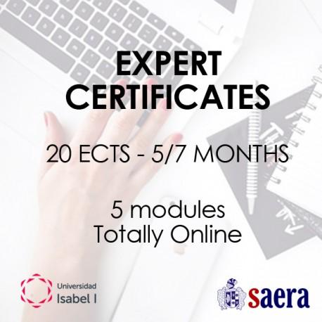 Expert Certificate: Payment in 3 installments